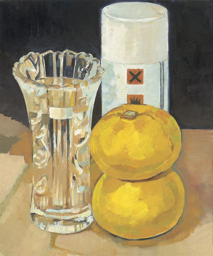Anthony Springford, Grapefruit and Fixative (giclee print, 2014)