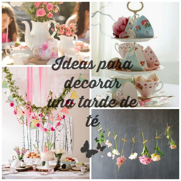 Ideas para decorar una tarde de t con amigas principal for Ideas para decorar azoteas