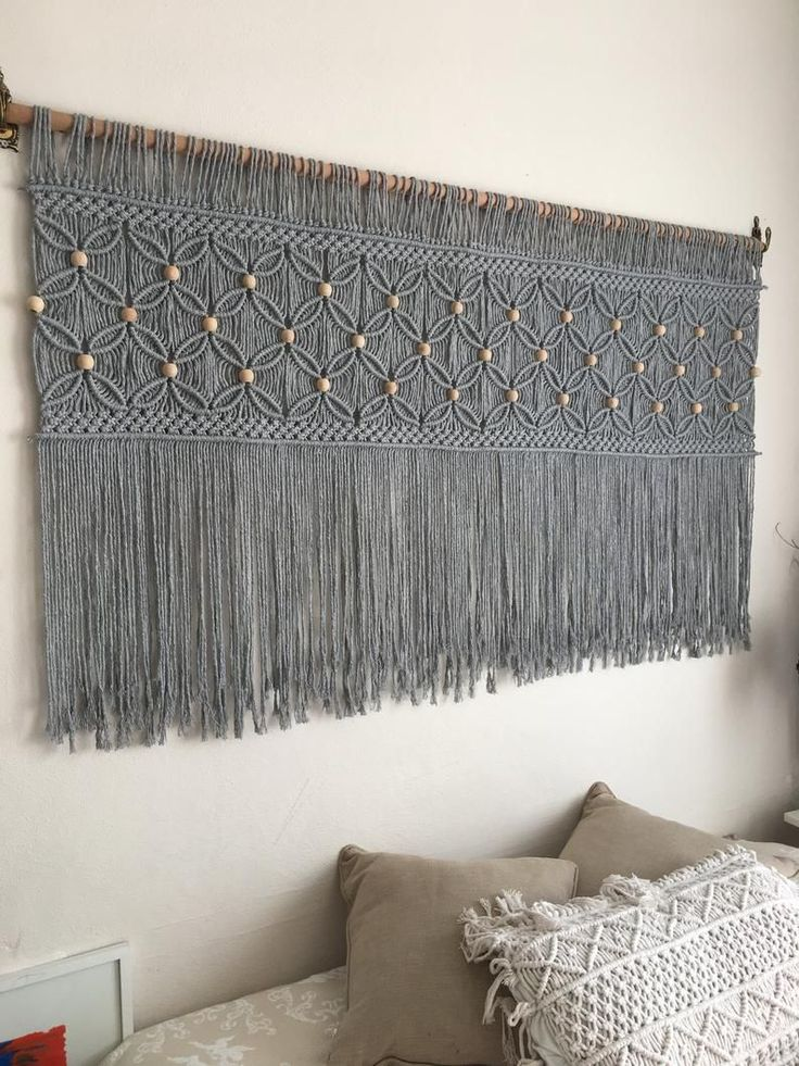 Macrame Design, Macrame Art, Macrame Projects, Macrame Modern, Macrame Knots, Micro Macrame, Macrame Wall Hanging Patterns, Large Macrame Wall Hanging, Macrame Patterns