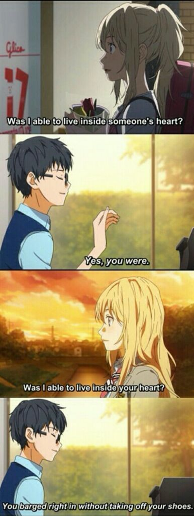 Your Lie in April<<< idk this anime but this is cute/funny