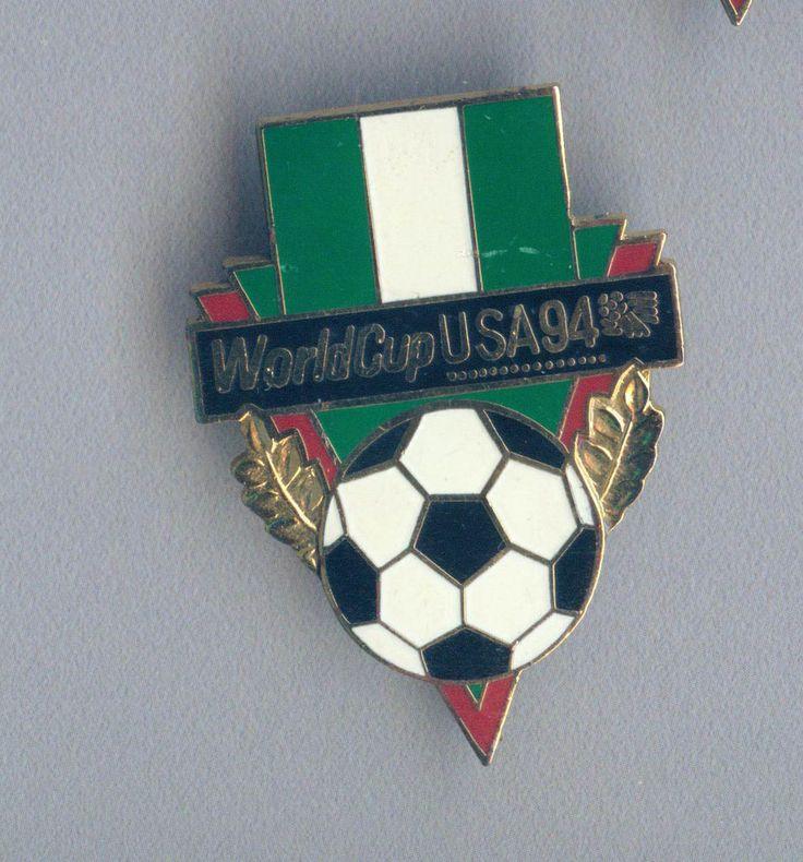 Official Nigeria National Football Soccer Team pin badge FIFA World Cup USA 1994  | eBay