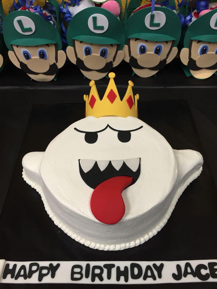 Images Of A King Birthday Cake : Meer dan 1000 idee?n over Luigi Cake op Pinterest - Film ...