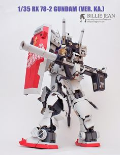 GUNDAM GUY: 1/35 RX-78-2 Gundam [Ver. Ka.] - Customized Build