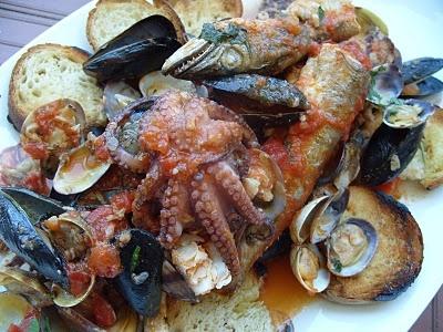 Cassola (fish soup)