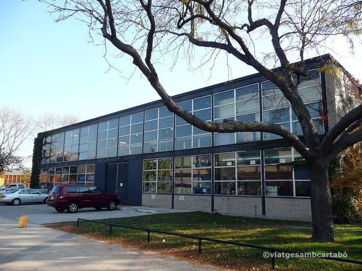 Illinois Institute of Technology - Peristein hall 1947| Mies van der Rohe