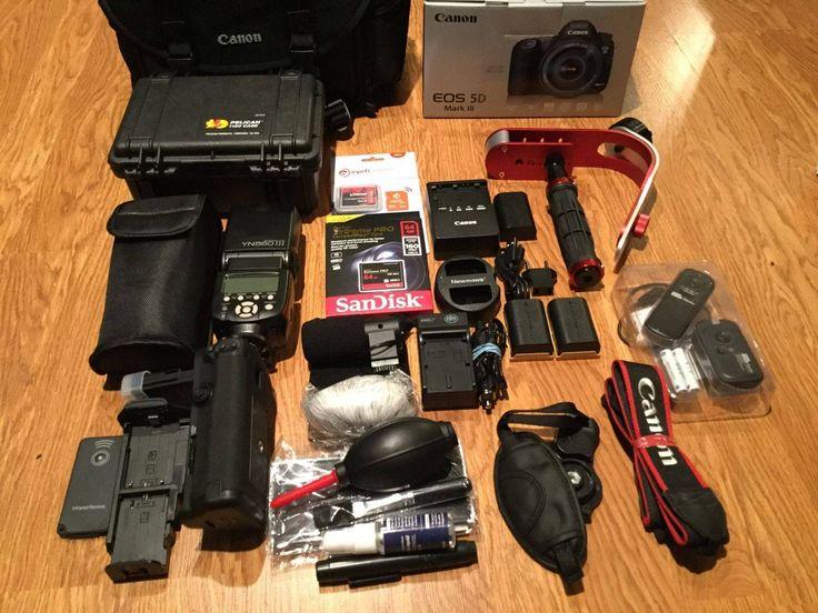 Canon EOS 5D Mark III Full Set Camera