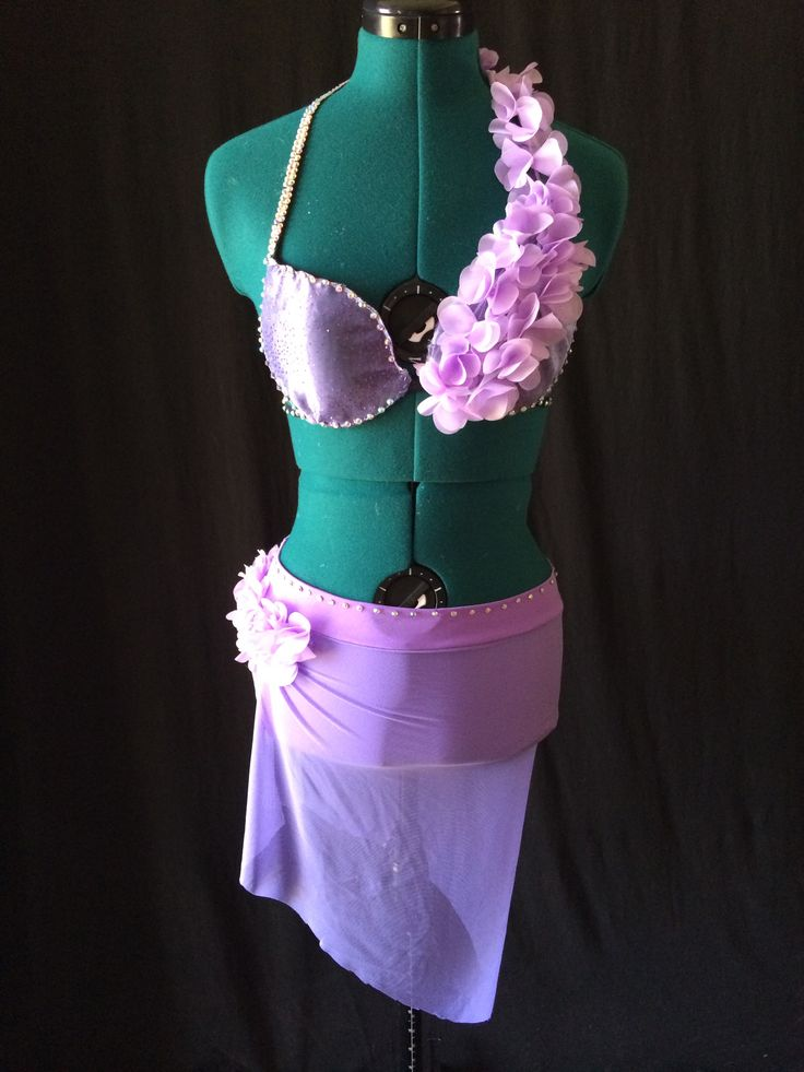 """Lilac Fairy"" dance costume for lyrical or contemporary, sizes child and adult."