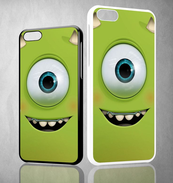 monsters inc face WALLPAPER Y1294 iPhone 4S 5S 5C 6 6Plus, iPod 4 5, LG G2 G3 Nexus 4 5, Sony Z2 Case
