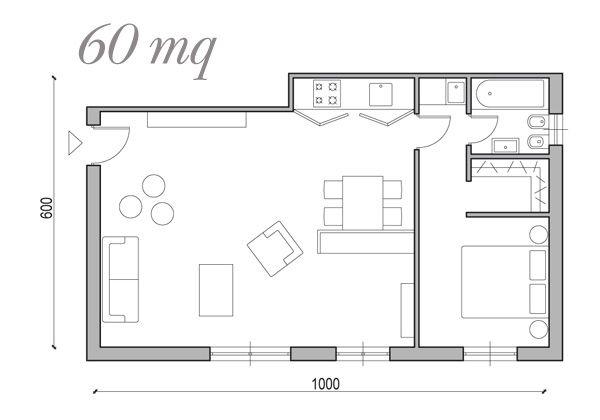 Soluzioni Da 25 A 60 Mq Foto 1 Livingcorriere Design