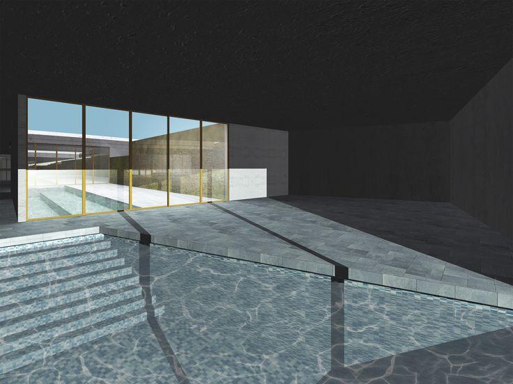 Wellness center + Hotel - Interior view - Atelier Arnaboldi - BC3 - Render
