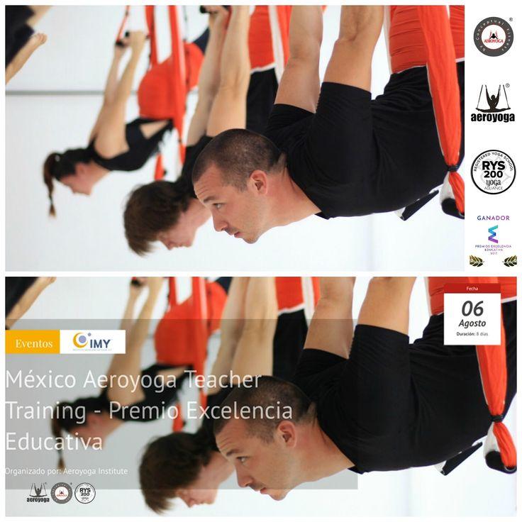 FORMACION PROFESORES AEROYOGA® Y AEROPILATES®  BY RAFAEL MARTINEZ MEXICO DF Mexico Agosto 2017! Regresa al DF la Certificación IAA, International AeroYoga® Association #AEROYOGA #AEROPILATES #WELOVEFLYING #yoga #body #acro #fly #tendencias #belleza #moda #ejercicio #exercice #trending #fashion #teachertraining #wellness #bienestar #MEXICO #MEXICODF #AEROYOGAMEXICO #aeroyogastudio #aeroyogaoficial #aeroyogachile #aeropilatesmadrid #aeropilatesbrasil #aeropilatescursos