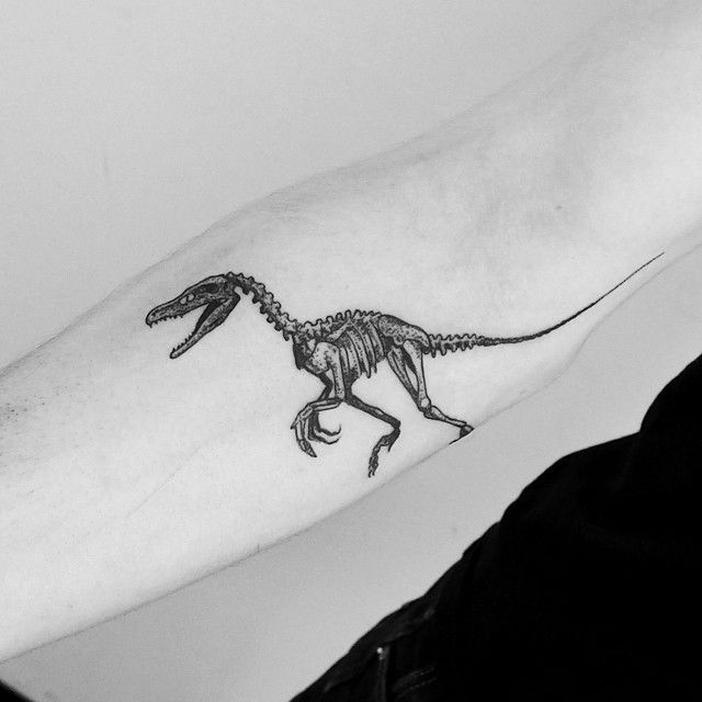 Velociraptor by Julia Shpadyreva
