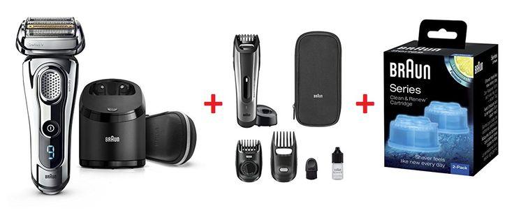 ¡Chollo! Afeitadora Braun Series 9 9296cc Clean