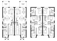 Oak 42 - Duplex Level - Floorplan by Kurmond Homes - New Home Builders Sydney NSW