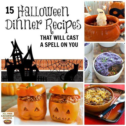 284 best recipes for halloween images on pinterest halloween recipe halloween foods and halloween ideas - Halloween Casserole Recipe Ideas
