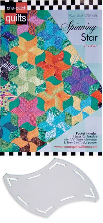 139 best rulers images on pinterest patchwork quilt blocks and one patch template spinning star pronofoot35fo Choice Image