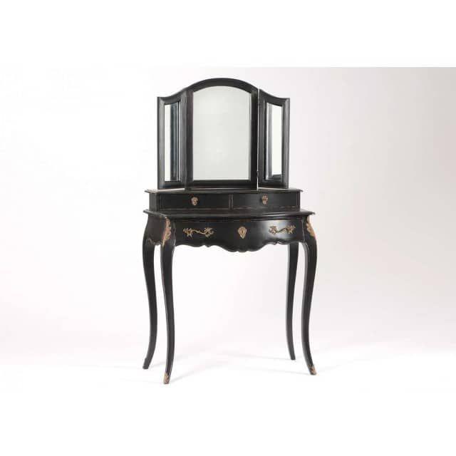 1000 id es sur le th me coiffeuse noir sur pinterest coiffeuse ikea brimne - Coiffeuse baroque noir ...