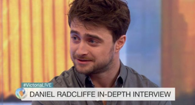 Daniel Radcliffe on The Victoria Derbyshire Show (BBC)
