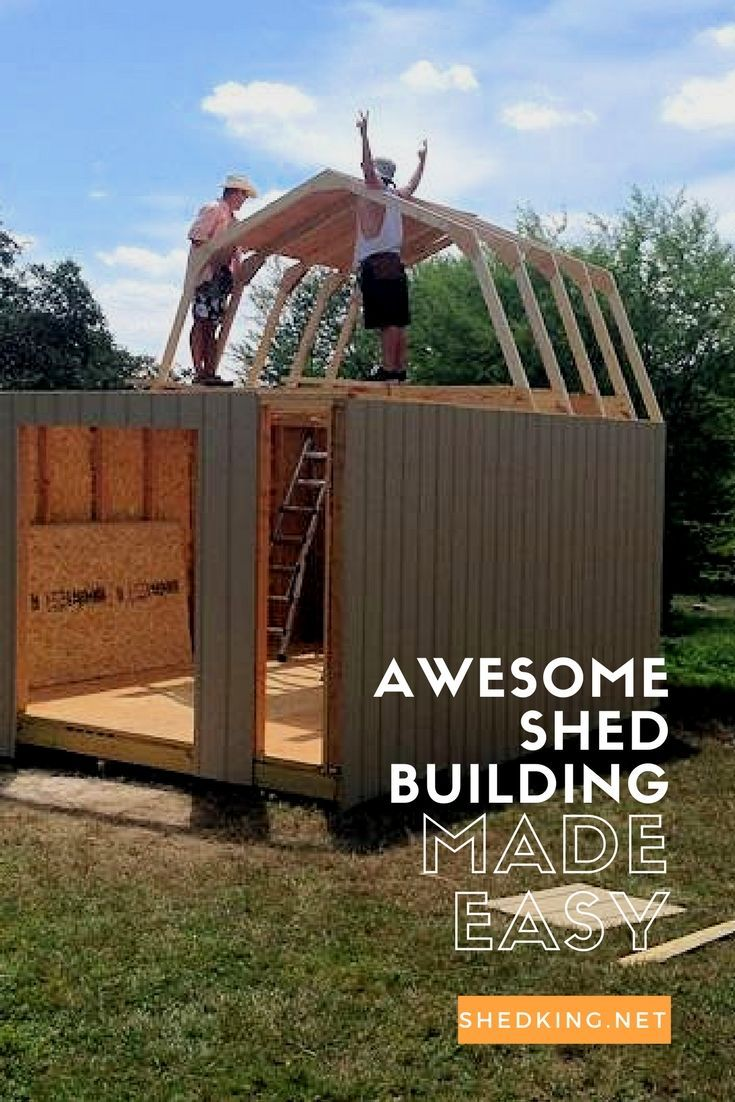 Free building guides cheap shed plans and email support for Free shed design software with materials list