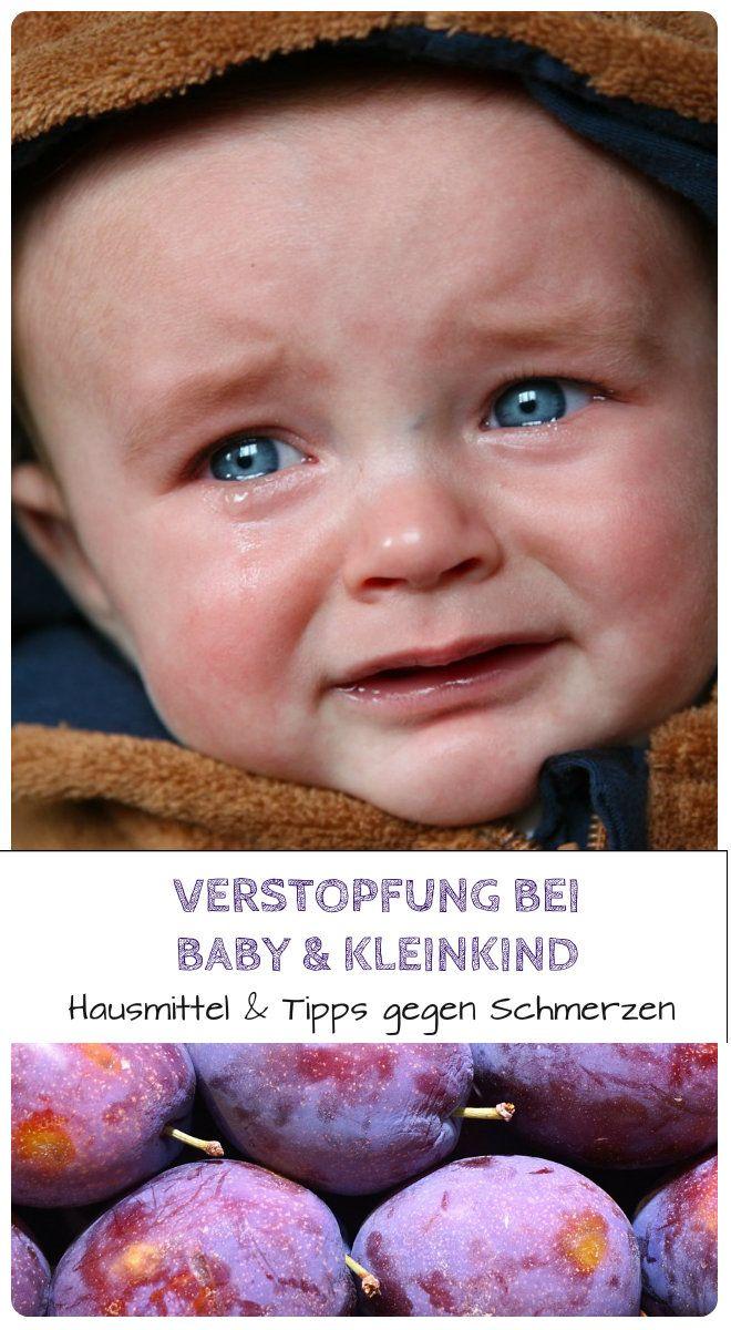 Verstopfung bei Baby & Kleinkind: Hausmittel und Tipps gegen Schmerzen
