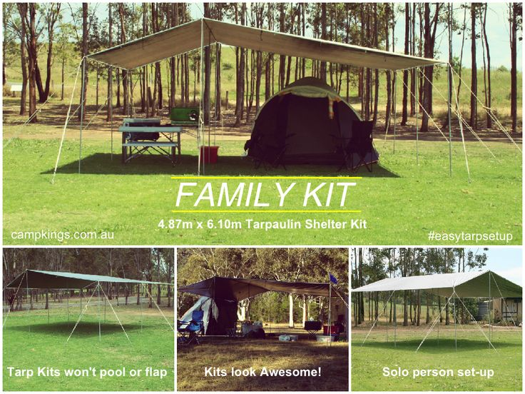 Awesome Tarpaulin Kits