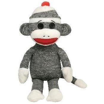 Peluche Singe Sock Gris - 24 cm - Achat / Vente PELUCHE Peluche Singe Sock Gris - 2… - Cadeaux de Noël Cdiscount