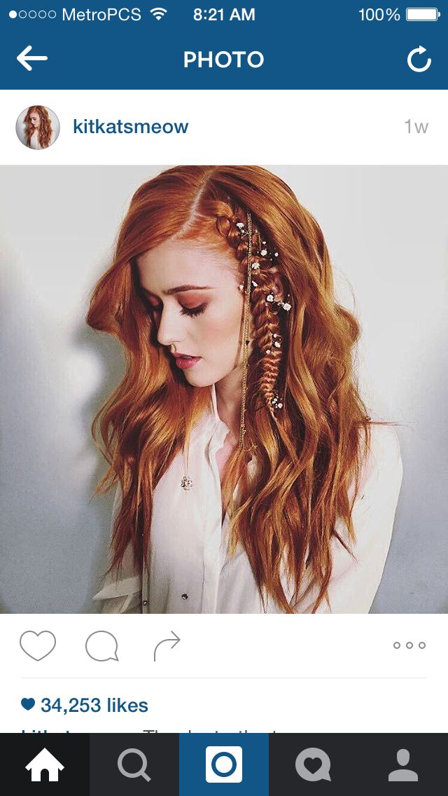 Love love love this hairstyle