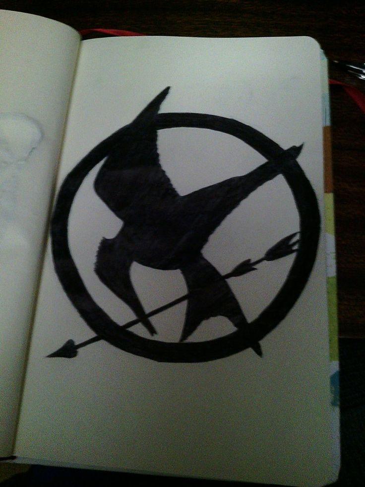 Mockingjay Symbol by Ashattack42