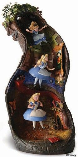 WDCC Disney Classics Alice In Wonderland Alice And Dinah Down The Rabbit Hole -   If I had the money, I'd get this for Kaleen!!  http://www.thecollectionshop.com/e.asp?StockNumber=4009505=356