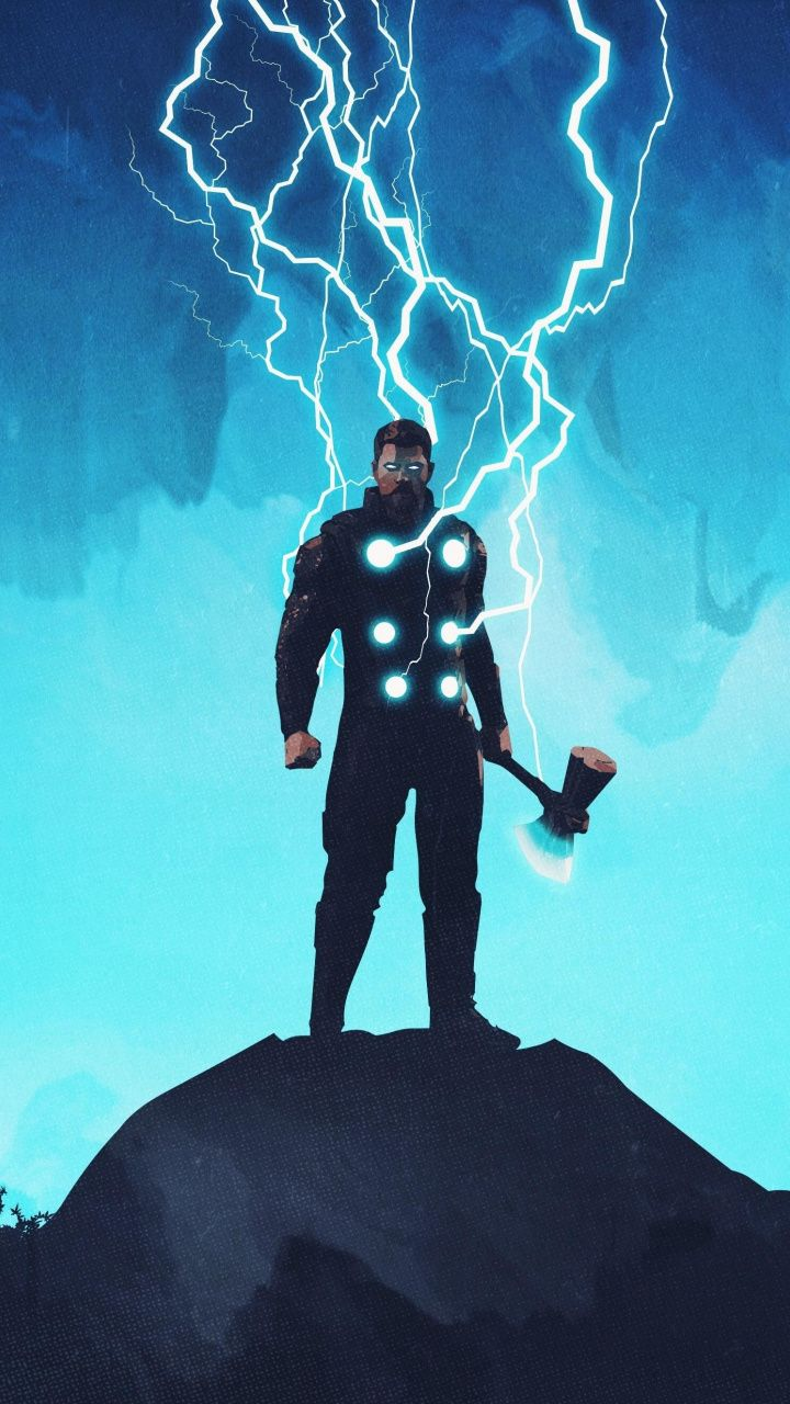 Thor Artwork Lightning God 720x1280 Wallpaper Marvel Thor Thor Wallpaper Thor Artwork