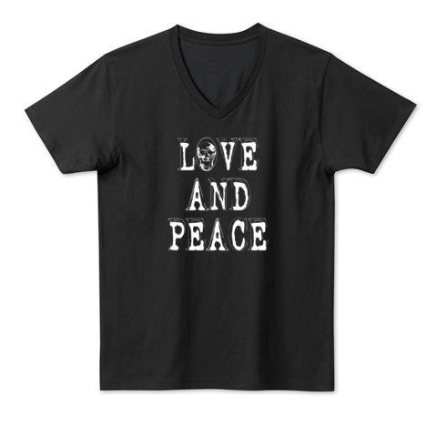 LOVE AND PEACE | デザインTシャツ通販 T-SHIRTS TRINITY(Tシャツトリニティ)