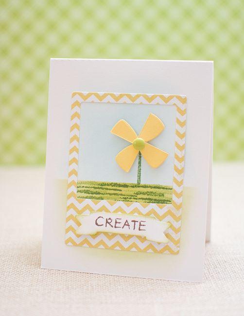 May Park's Pinwheel card