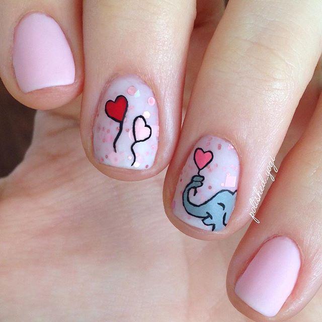 elephant nails ideas
