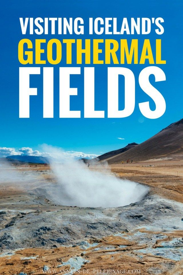 The Hverir geothermal area near Lake Myvatn is Icelands best place to see steam vents and mud pools. Find all out all about the area called Námafjell and how to get to Hverir. Click for more information and loads of pretty pictures.