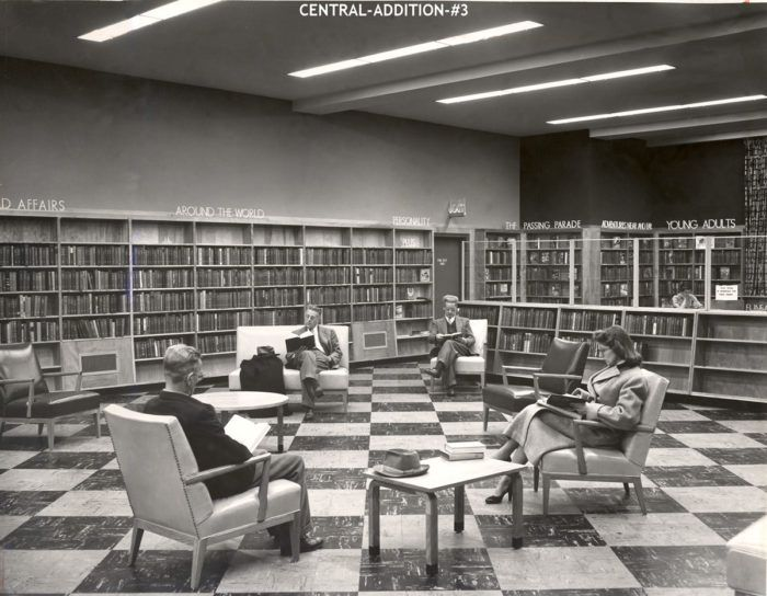 1. Adult reading room