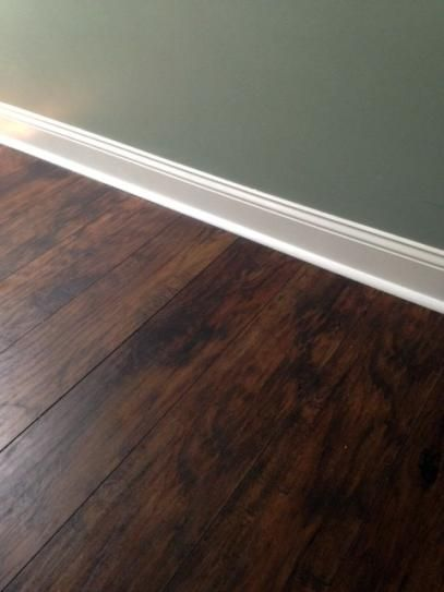 TrafficMASTER Hand Scraped Saratoga Hickory 7 Mm Thick X 2 3 In Wide 50 5 8 Length Laminate Flooring 2417 Sq Ft Case