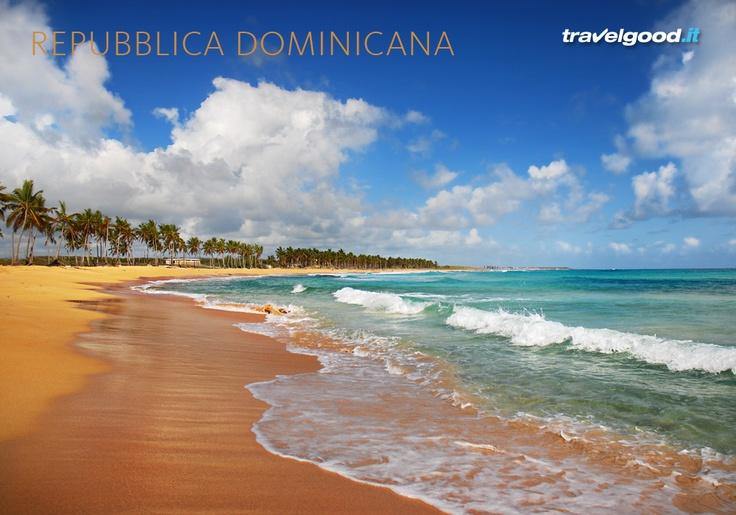Spiagge bianche, mare di un azzurro immenso, natura incontaminata, atmosfere esotiche ed architettura coloniale sono gli ingredienti principali di una delle mete turistiche più attraenti dei Caraibi.  #Repubblica Dominicana #travelgood