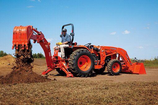 KUBOTA Tractor Backhoe