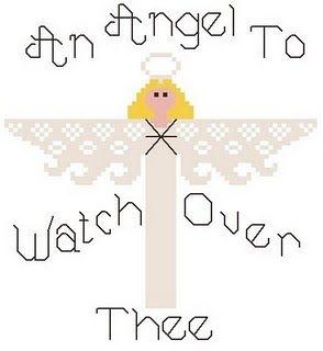Free Cross Stitch Pattern - Angel