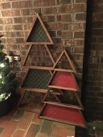 1x2 Christmas Trees | Do It Yourself Home Projects from Ana White