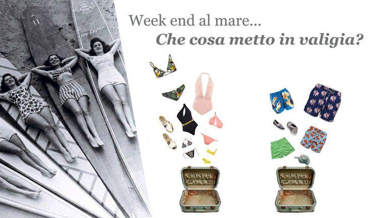 Che voglia di passare un week-end al mare!!!.... ...Ma che cosa si deve mettere in valigia? Che cosa suggerisce la moda 2015 per il beachwear? Scopri cosa mettere in valigia sul nostro blog! http://historic-brand.com/week-end-al-mare-che-cosa-metto-in-valigia/ #historic #abbigliamentodonna #modaestate2015 #womanfashion2015