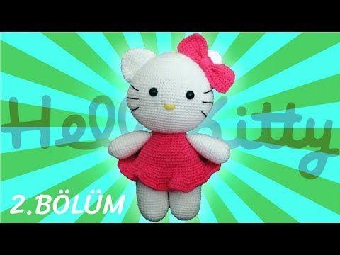 Amigurumi Knitting (Amigurumi) Hello Kitty Cat Making Part 4 – Arm ... | 360x480