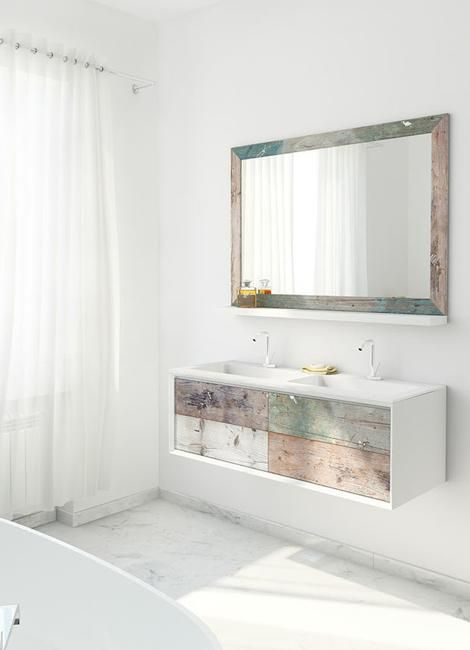 Beautiful Weathered Wood, Bathroom Furniture