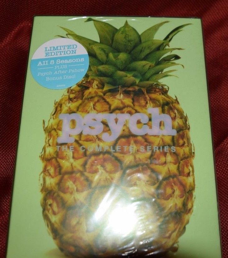 PSYCH COMPLETE SERIES DVD SEASONS 1 - 8  31 DISC BOX SET NEW SEALED DAMAGED!!!