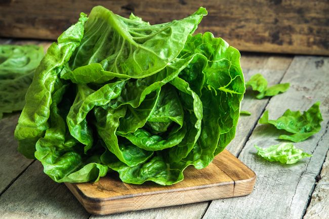 ROMAINE LETTUCE.  Surprised to see this on the list? Most notably, romaine lettuce beats kale in its folic acid content, one of the nutrients shown to help alleviate depression. And, like all of the others on this list, the nutritional value of romaine lettuce beats kale gram for gram.