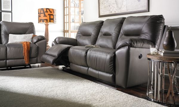 American Made Southern Motion 94 Inch Lay Flat Power Reclining