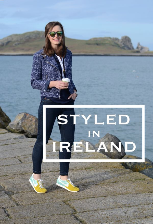 Styled in Ireland / What to Wear for a Seaside Coffee Date
