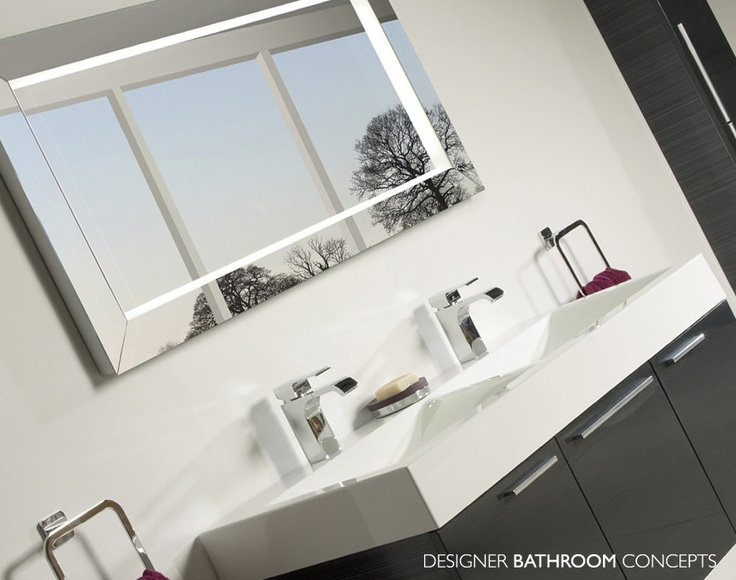 Affinity Designer Illuminated Bathroom Mirror From DesignerBathroomConcepts Roper RhodesBathroom