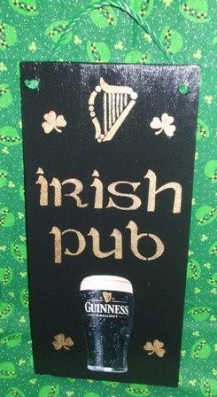 Irish Pub Sign by mareestreasures on Etsy, $15.00