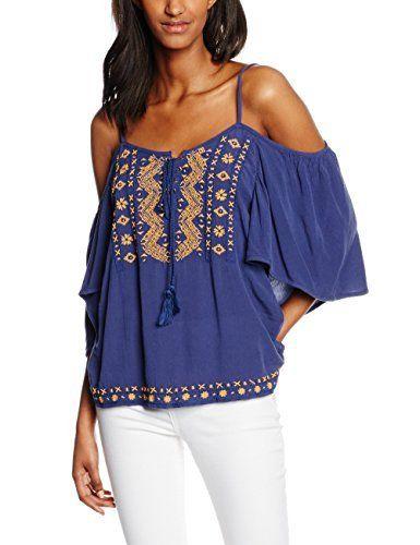 Ropa cómoda, ligera y en tendencia.    Estos tres requisitos lo cubre perfectamente las blusas de hombros descubiertos, así que no dudes de hacerte con una blusas así.
